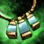 Opal Orichalcum Amulet