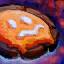 Glazed Chocolate Raspberry Cookie