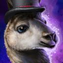 Mini Fancy Llama Gw2bltc