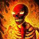 Mini Charles the Hellfire Skeleton
