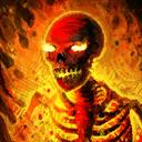 Mini Charles the Hellfire Skeleton