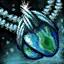 Azurite Mithril Amulet