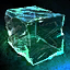 Crystal Block of the Solid Ocean