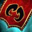 Guild Wars 2 Insigne en lin brodé berserker