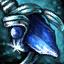 Guild Wars 2 Boucle d'oreille en mithril et en saphir