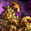 Bowl of Sawgill Mushroom Risotto