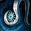 Guild Wars 2 Boucle d'oreille en argent et en flocon