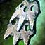 Sprocket Orichalcum Earring