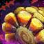 Agglomérat de bonbons