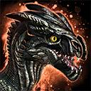 Mini Black Raptor Hatchling