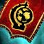Guild Wars 2 Insigne en lin brodé assassin