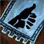 Guild Wars 2 Insigne en coton brodé aiguisé