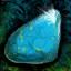 Galet de turquoise