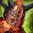 Mini Flame Legion Effigy
