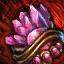 Guild Wars 2 Bijou vermeil en spinelle embelli