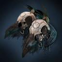Deathly Avian Shoulderpads Skin