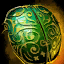 ico Gilded Scarab Shell