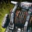 Guild Wars 2 Sac à dos de forgeron d'armures entrelacé