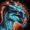 Mini Blue Raptor Hatchling