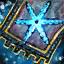 Guild Wars 2 Insigne en coton brodé bienfaiteur
