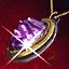 Amethyst Gold Amulet