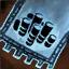 Guild Wars 2 Insigne en coton brodé chasseur