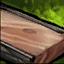 Planche de bois dur