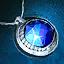 Guild Wars 2 Amulette en argent et en lapis