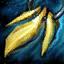 Guild Wars 2 Boucle d'oreille en argent et en topaze