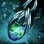 Guild Wars 2 Boucle d'oreille en mithril et en azurite