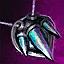 Opal Platinum Amulet