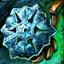 Snowflake Orichalcum Earring