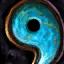 Guild Wars 2 Tige en cuivre et en turquoise