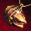 Guild Wars 2 Pendentif en or et en cornaline