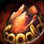 Guild Wars 2 Bijou vermeil en cornaline