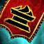 Guild Wars 2 Insigne en lin brodé clérical