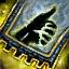 Guild Wars 2 Insigne en coton entrelacé aiguisé