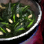 Bowl of Garlic Spinach Sautee
