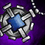 Guild Wars 2 Amulette en platine et en saphir