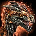 Mini Fire Raptor Hatchling