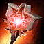Knight's Volcanic Stormcaller Hammer