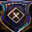 Guild Wars 2 Insigne en jute brodé néfaste
