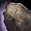 Plaque en métal récupérée