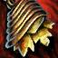 Guild Wars 2 Boucle d'oreille en or et en topaze