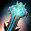 Cleric's Charged Stormcaller Scepter