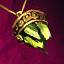 Peridot Gold Amulet