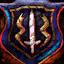 Guild Wars 2 Insigne en jute brodé puissant