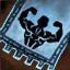 Guild Wars 2 Insigne en coton brodé vigoureux