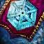 Guild Wars 2 Insigne en lin brodé bienfaiteur