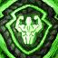 Guild Wars 2 Insigne en laine entrelacée vigoureux